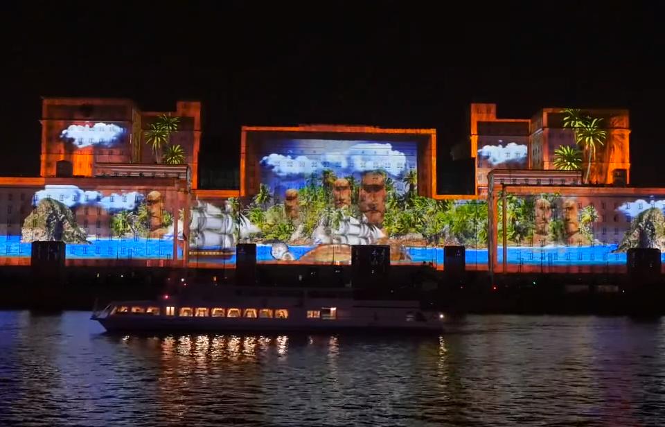 Największe projekcje na budynku (mapping) na świecie