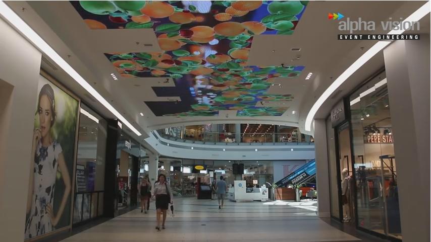 5 najlepszych rozwiązań multimedialnych do sklepów i galerii handlowych